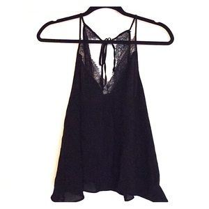 Lace tank top. Never worn.